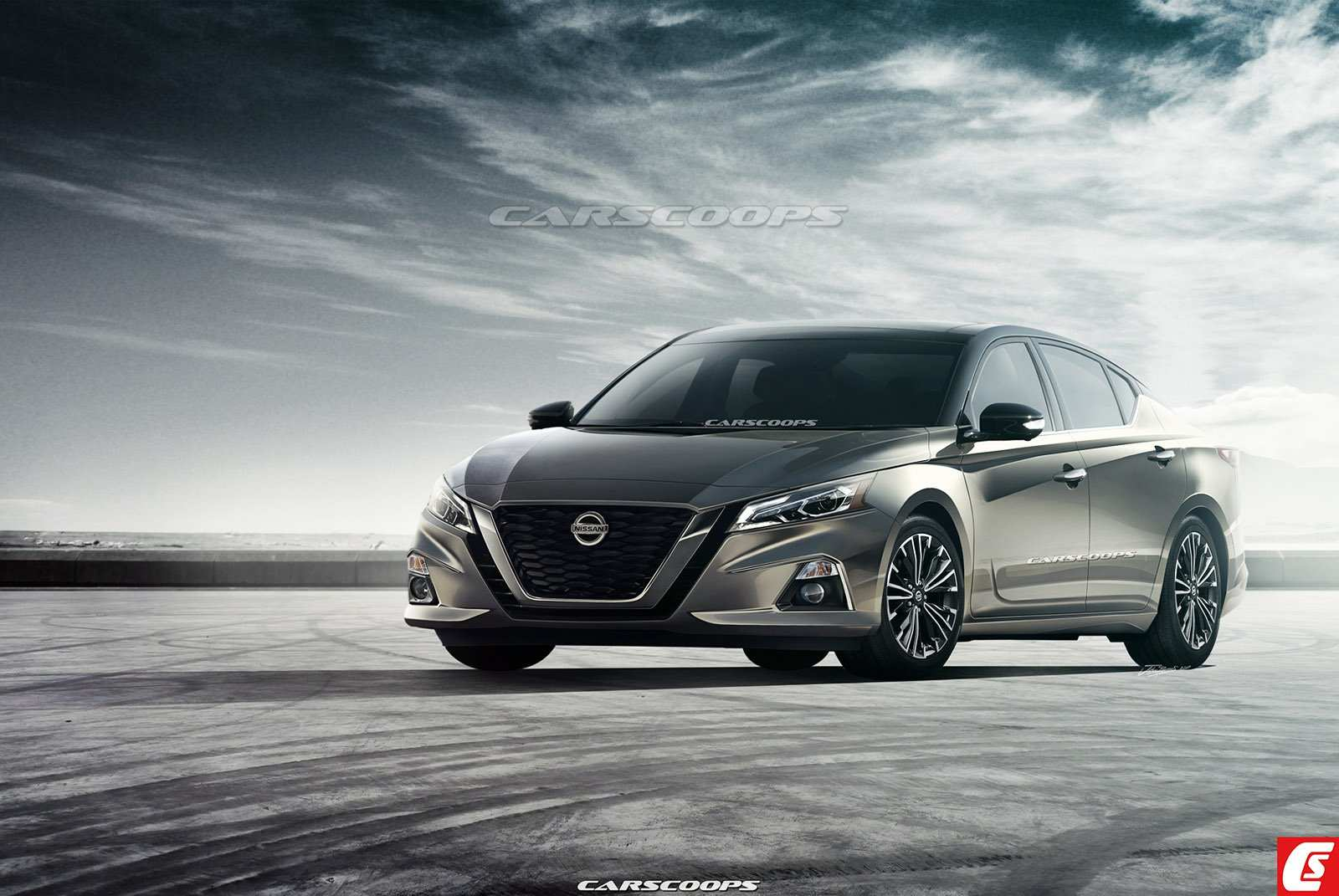 94 All New 2019 Nissan Altima Rendering Redesign And Concept