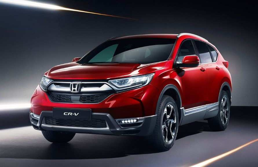 94 The Honda Crv 2020 Redesign First Drive