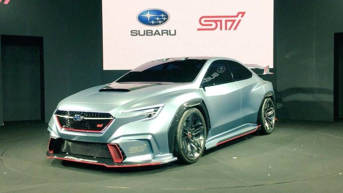 94 The Subaru Sti 2020 Concept Redesign And Review