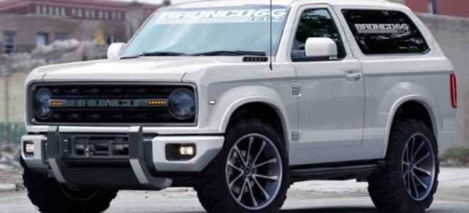 95 A 2020 Ford Bronco Msrp Release