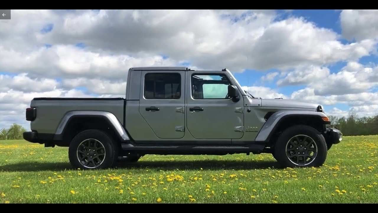 95 A 2020 Jeep Gladiator Overland Youtube Review And Release Date