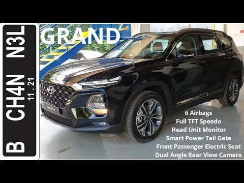 95 A Hyundai Grand Santa Fe 2020 Spesification
