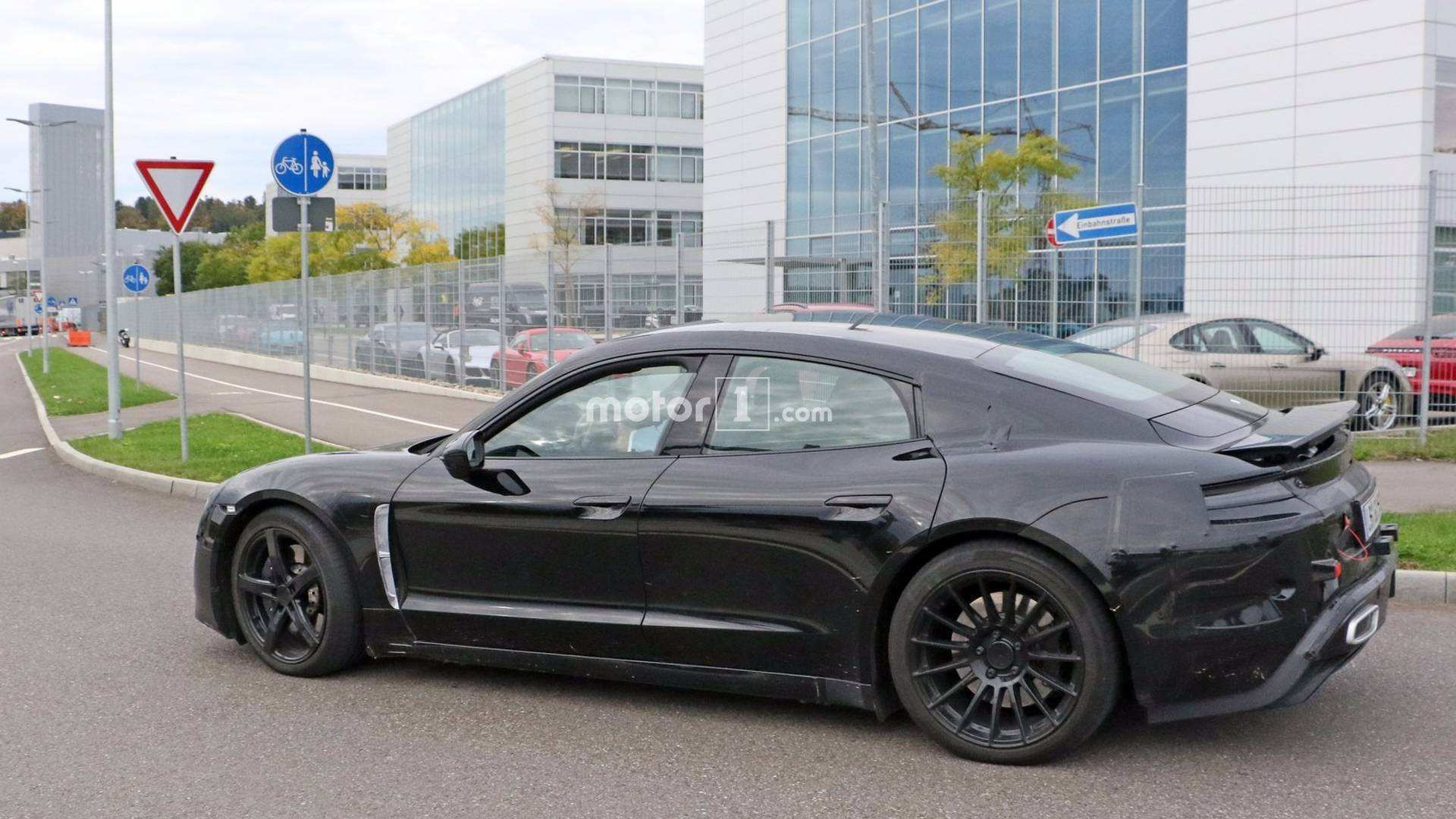 95 All New 2020 Porsche Mission E Electric Sedan Spied Testing Alongside Teslas Concept And Review