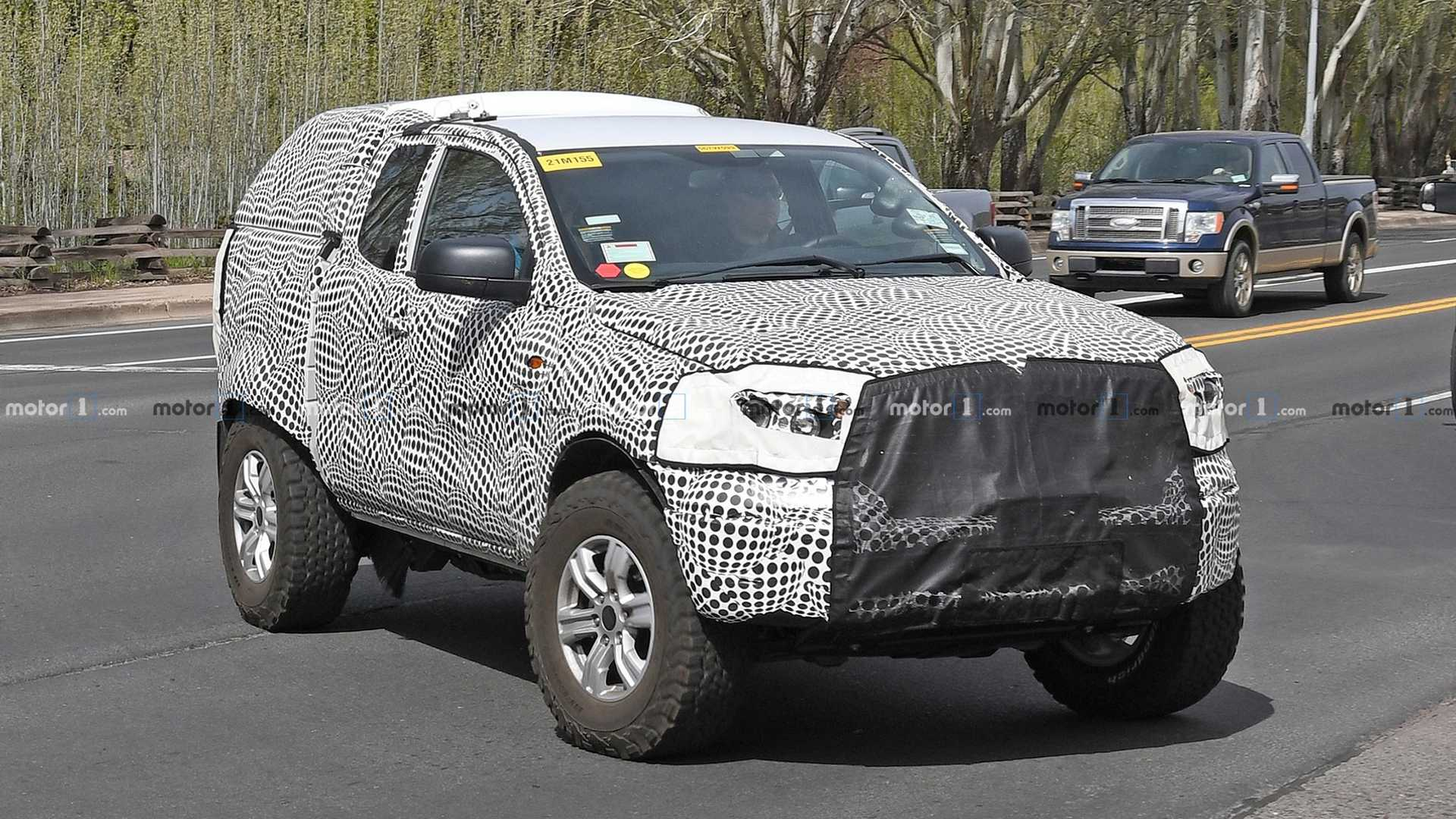 95 The 2020 Ford Bronco Raptor Images