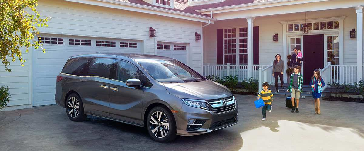 96 A 2019 Honda Odyssey Release First Drive