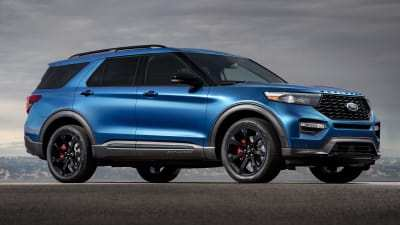 96 New Ford Unveils The New 2020 Explorer Redesign