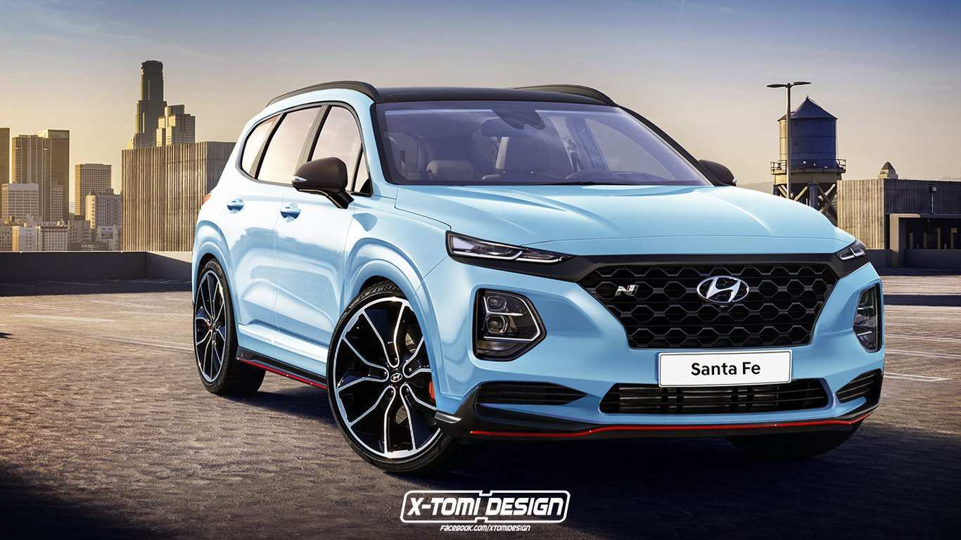 96 New Hyundai Grand Santa Fe 2020 Overview