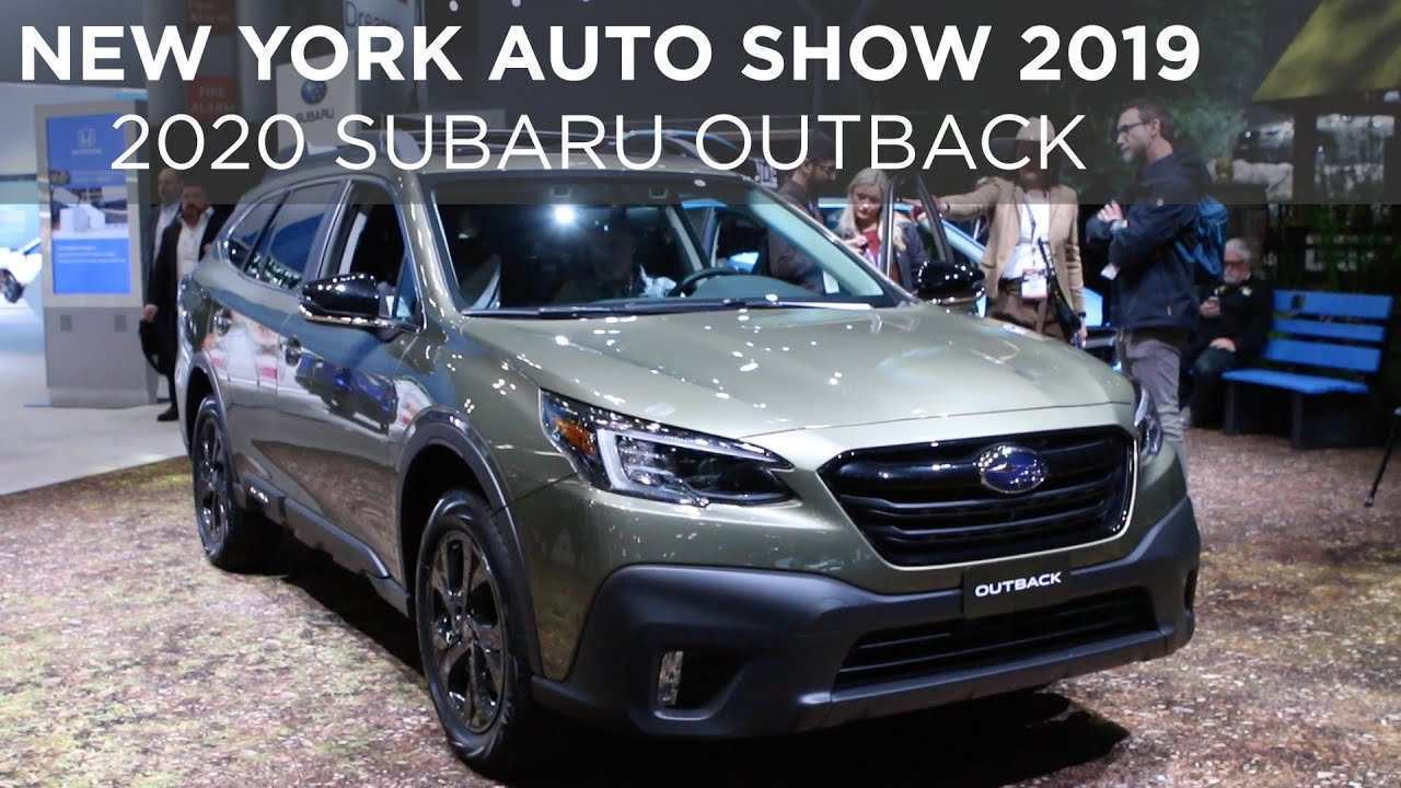 96 New Subaru Outback 2020 New York Release