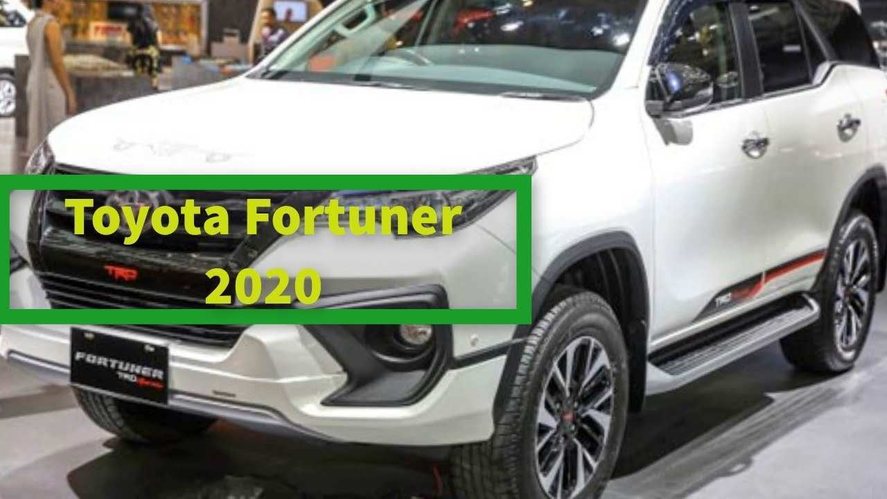 97 New Upcoming Toyota Fortuner 2020 Performance And New Engine