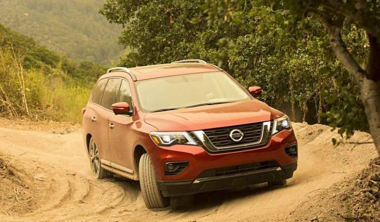 97 The Best 2019 Nissan Pathfinder Spy Shots Review And Release Date