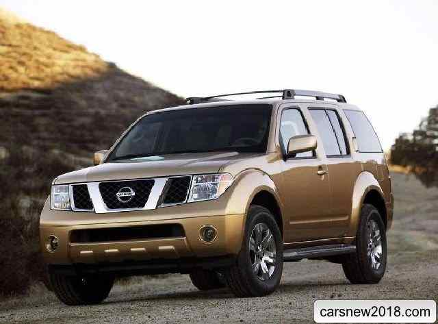 98 A 2019 Nissan Pathfinder Spy Shots Interior
