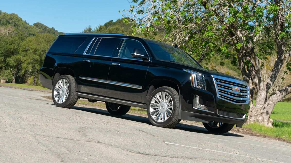 98 All New 2019 Cadillac Escalade Redesign Spy Shoot