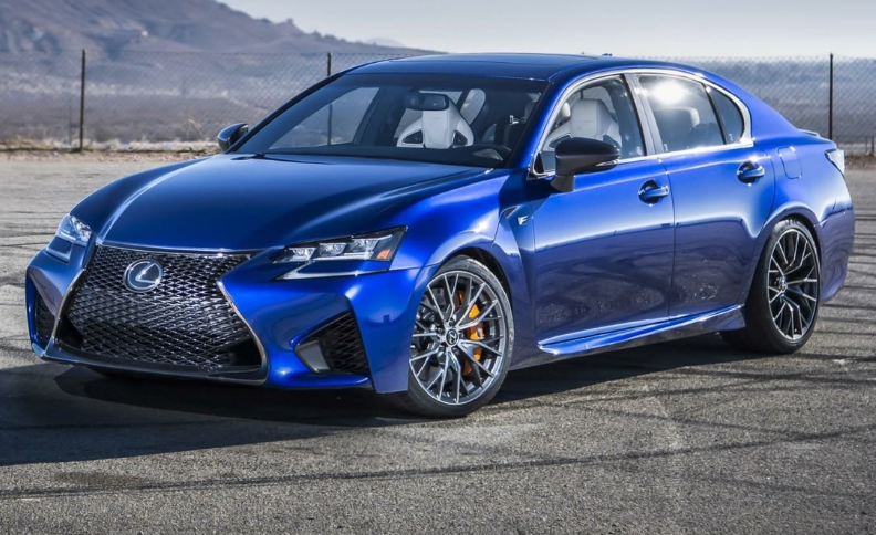 98 The Lexus Gs F 2020 Picture