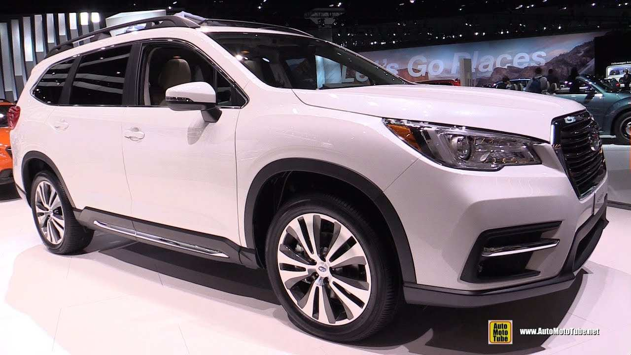 99 A 2019 Subaru Ascent Debut Interior