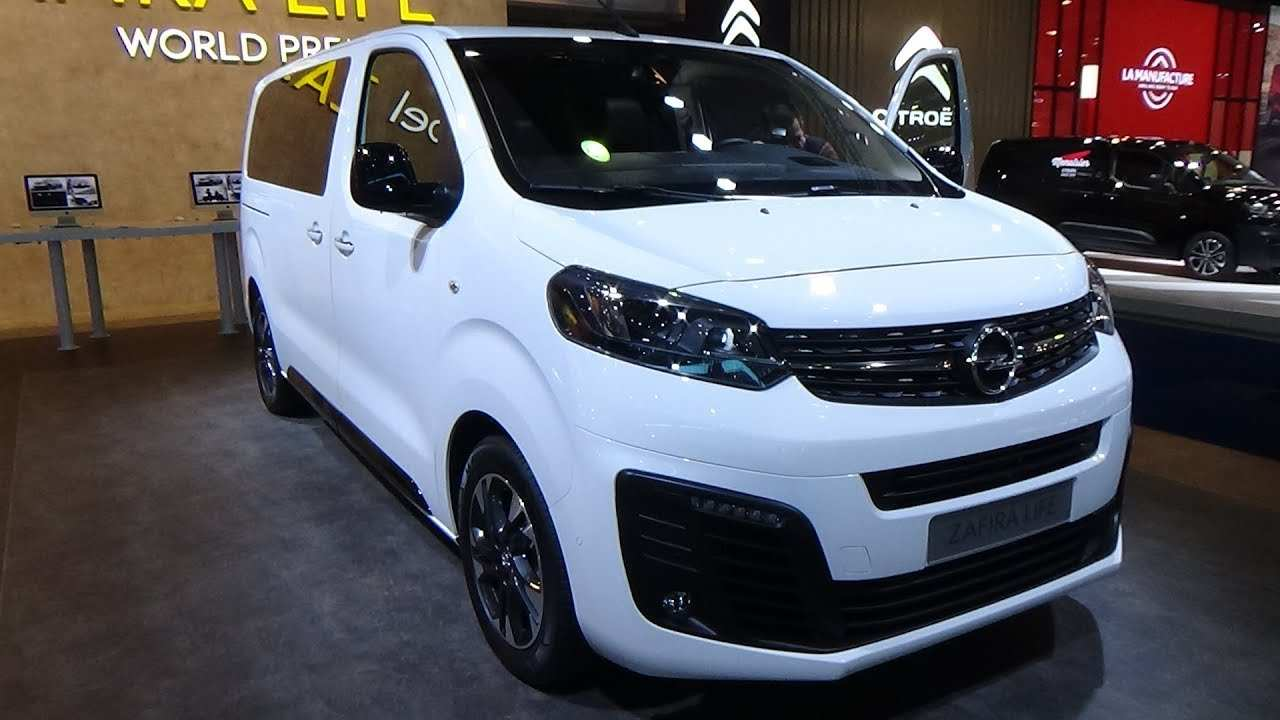 99 All New Futur Opel Zafira 2020 Review And Release Date