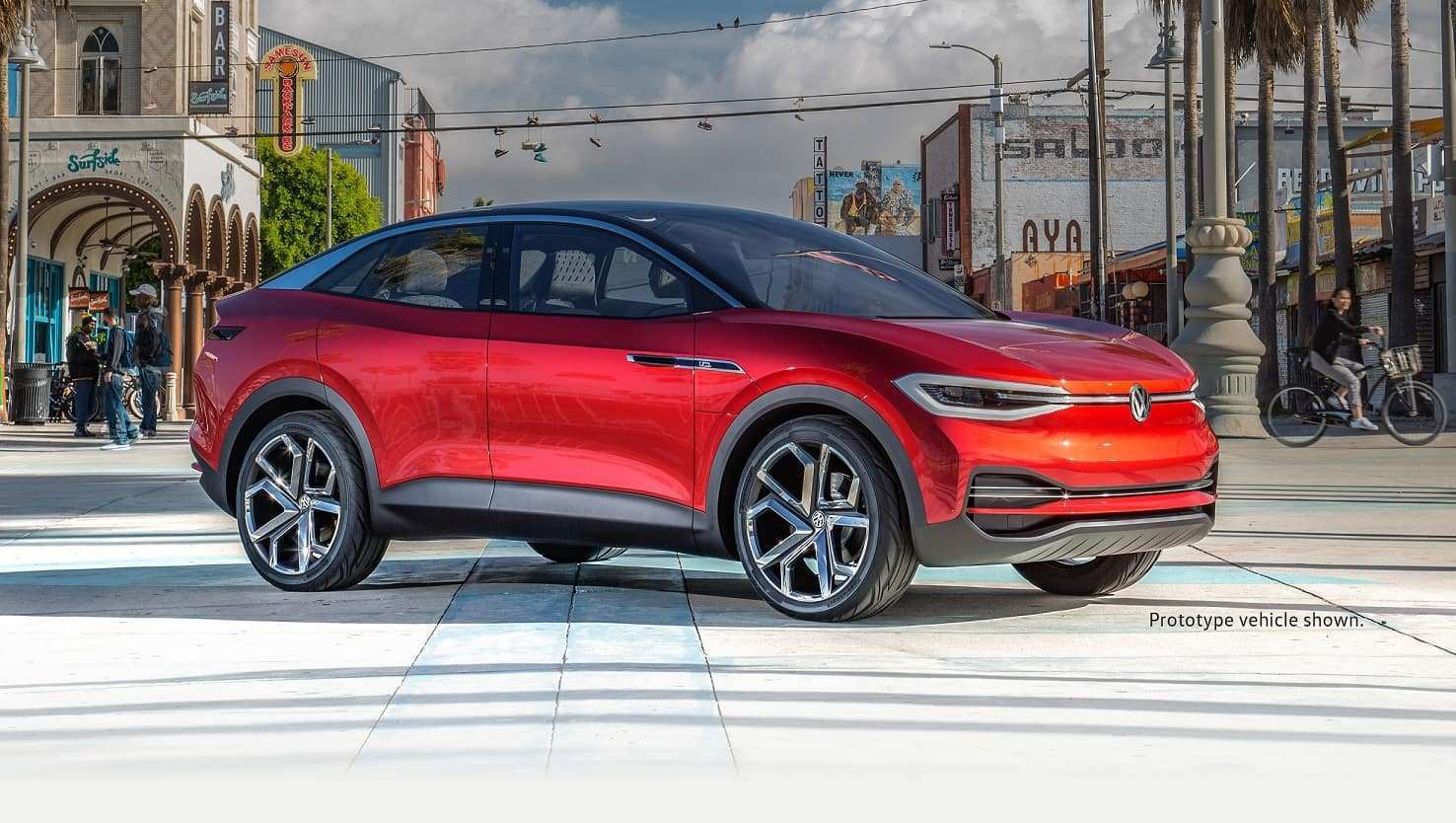 99 All New Volkswagen I D Crozz 2020 Spy Shoot