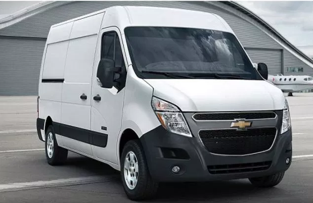 99 The 2020 Chevrolet Passenger Van Wallpaper