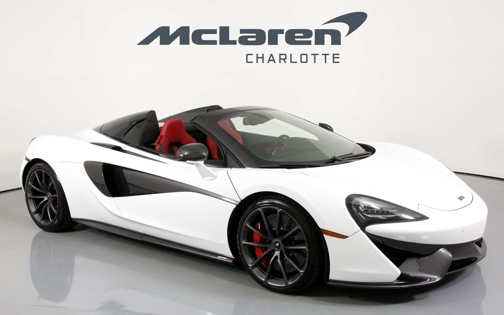 11 A 2019 Mclaren 570S Spider Spy Shoot