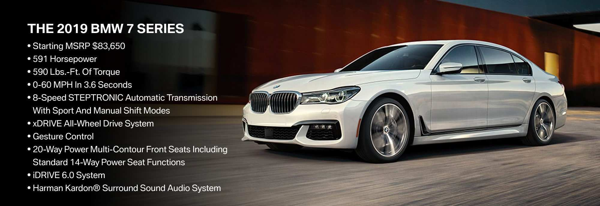 12 All New 2019 Bmw 7 Series Perfection New Price And Review