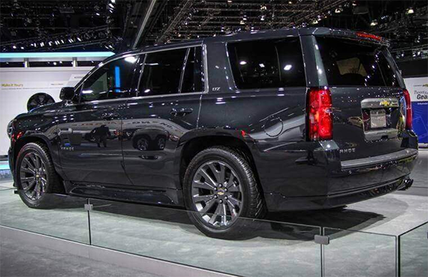 13 New When Will The 2020 Chevrolet Tahoe Be Released Redesign
