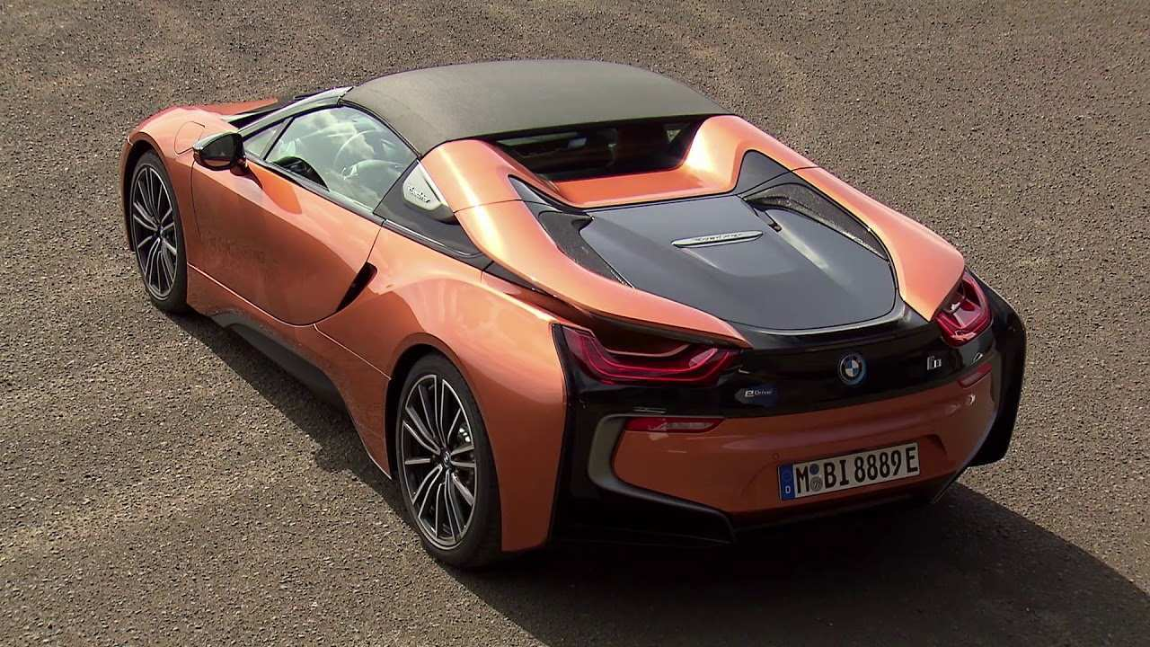 13 The 2019 Bmw I8 Roadster Interior