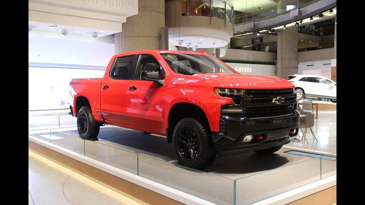 14 All New 2019 Silverado Unveil Images