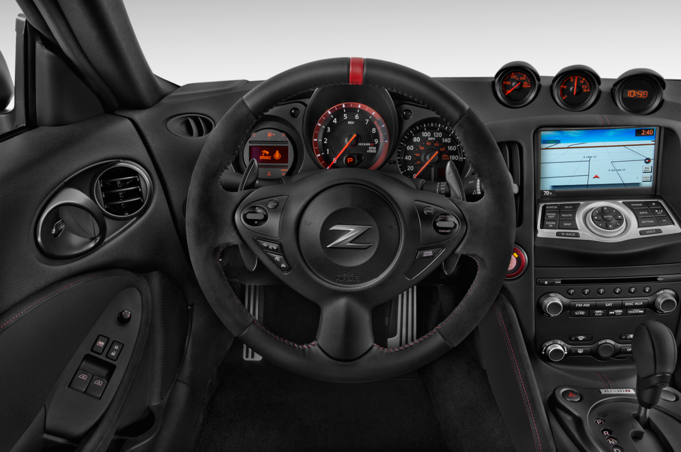 14 The 2019 Nissan 270Z Interior