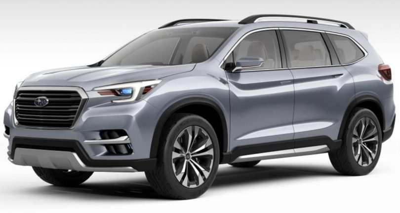 14 The 2019 Subaru Ascent Release Date Spy Shoot