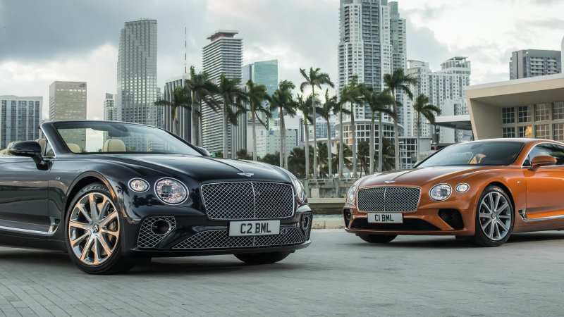 15 All New 2019 Bentley Gt V8 Concept