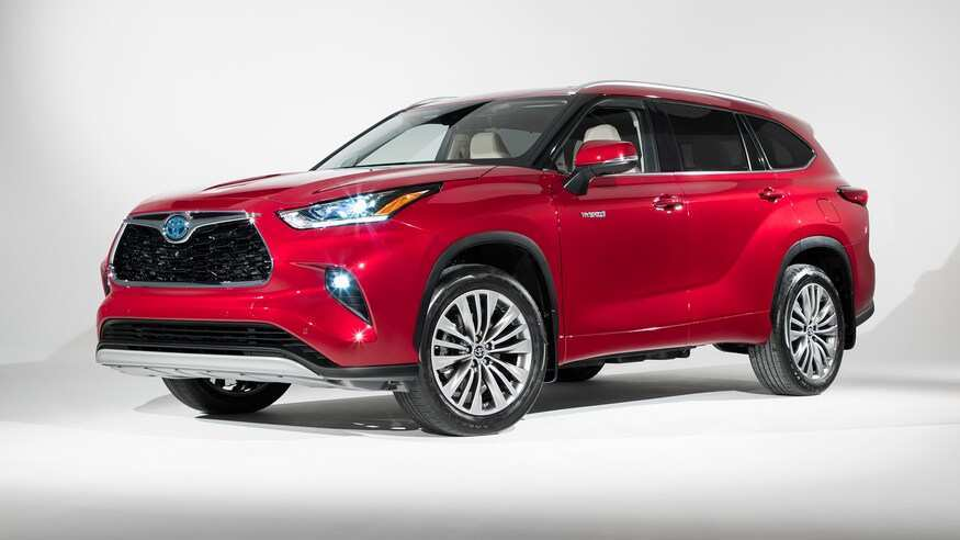 16 New 2020 Toyota Highlander Concept Performance And New Engine