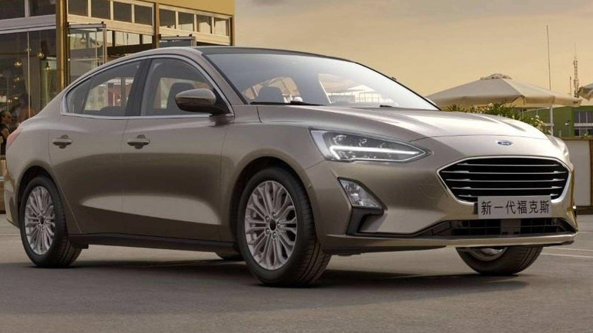 16 The 2019 Ford Focus Sedan Concept And Review