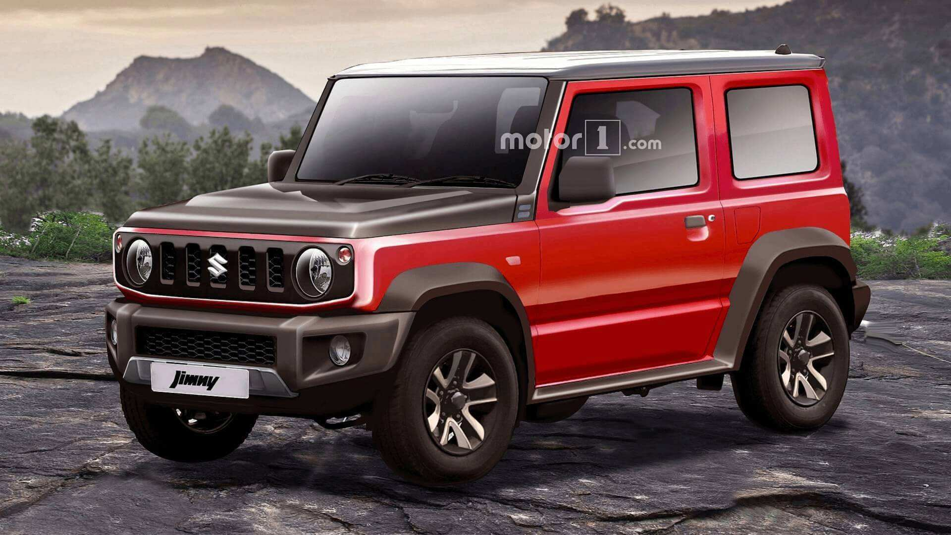 16 The 2019 Suzuki Jimny Concept