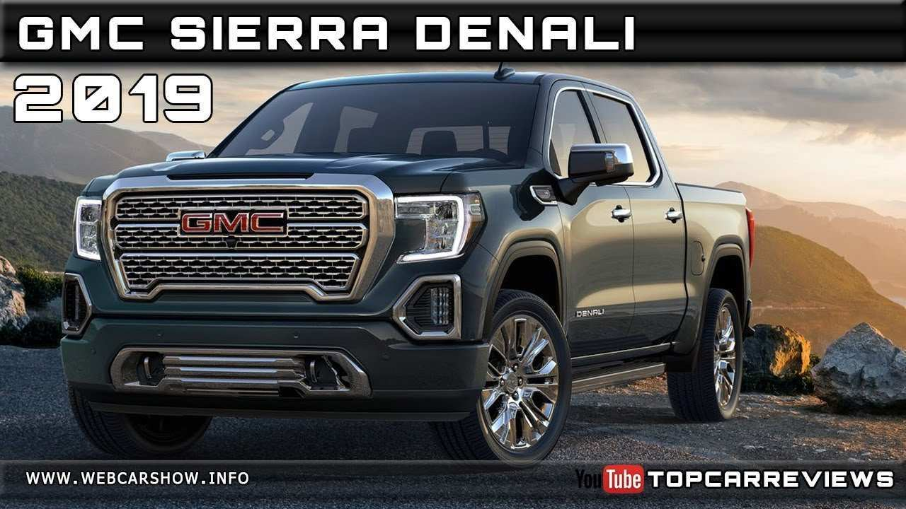 19 All New 2019 Gmc Engine Specs Exterior