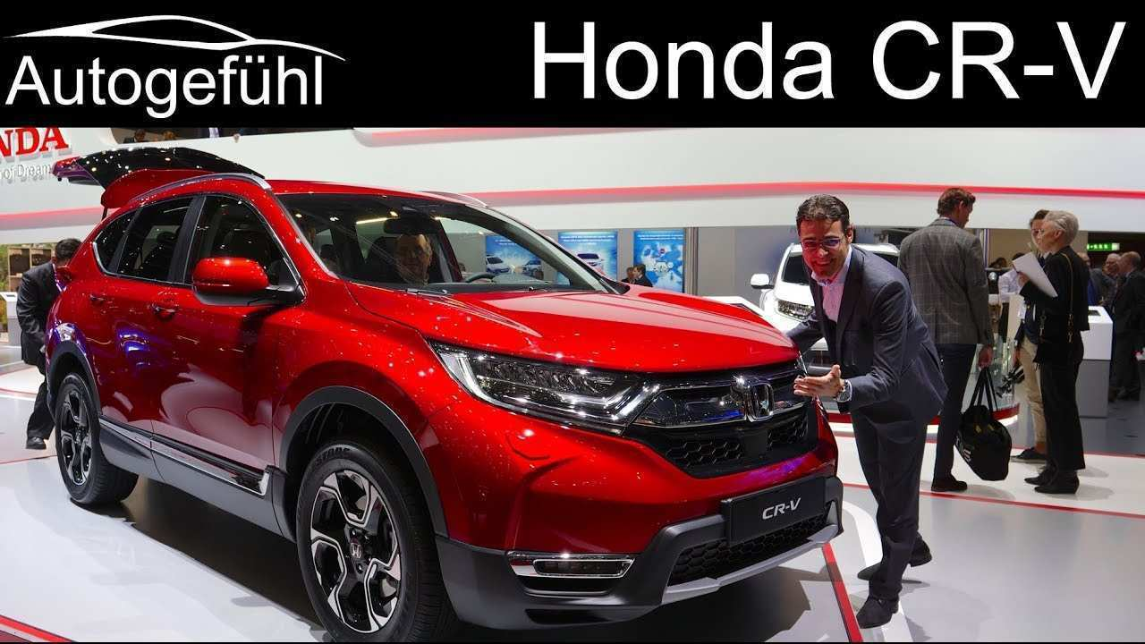 19 All New 2020 Honda Crv Youtube Price Design And Review