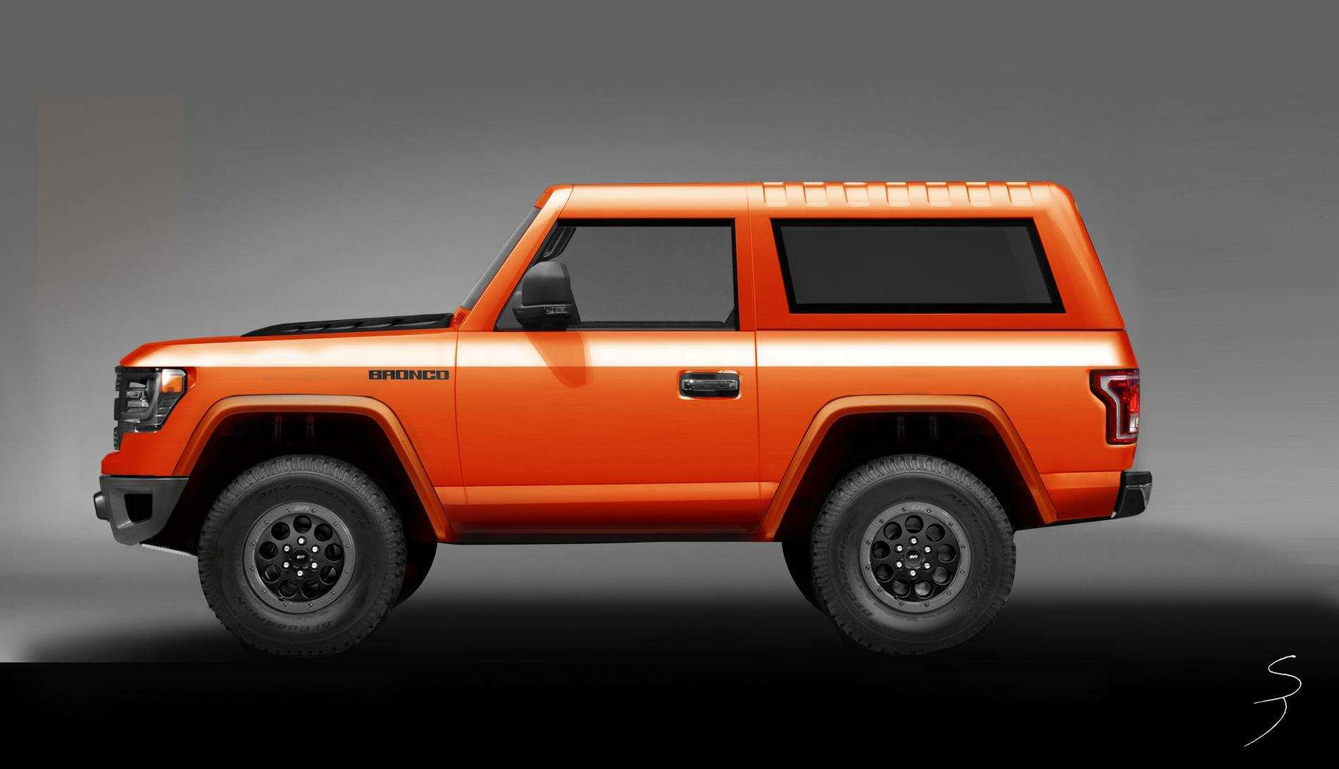 19 Best 2020 Orange Ford Bronco Concept