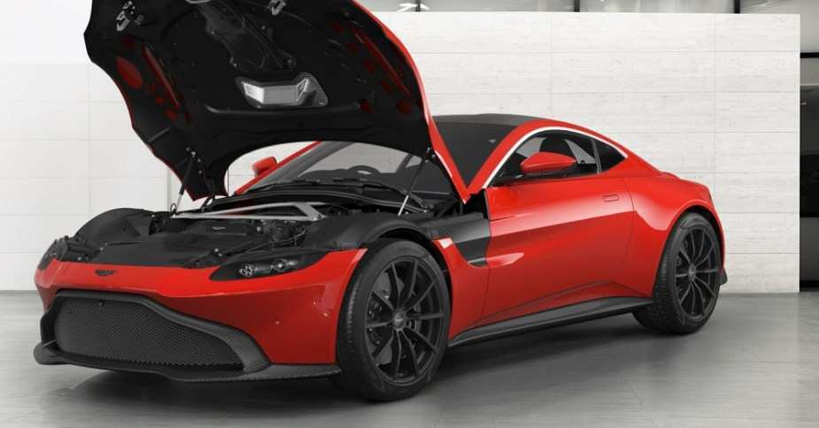 19 New 2019 Aston Martin Vantage Configurator Performance And New Engine