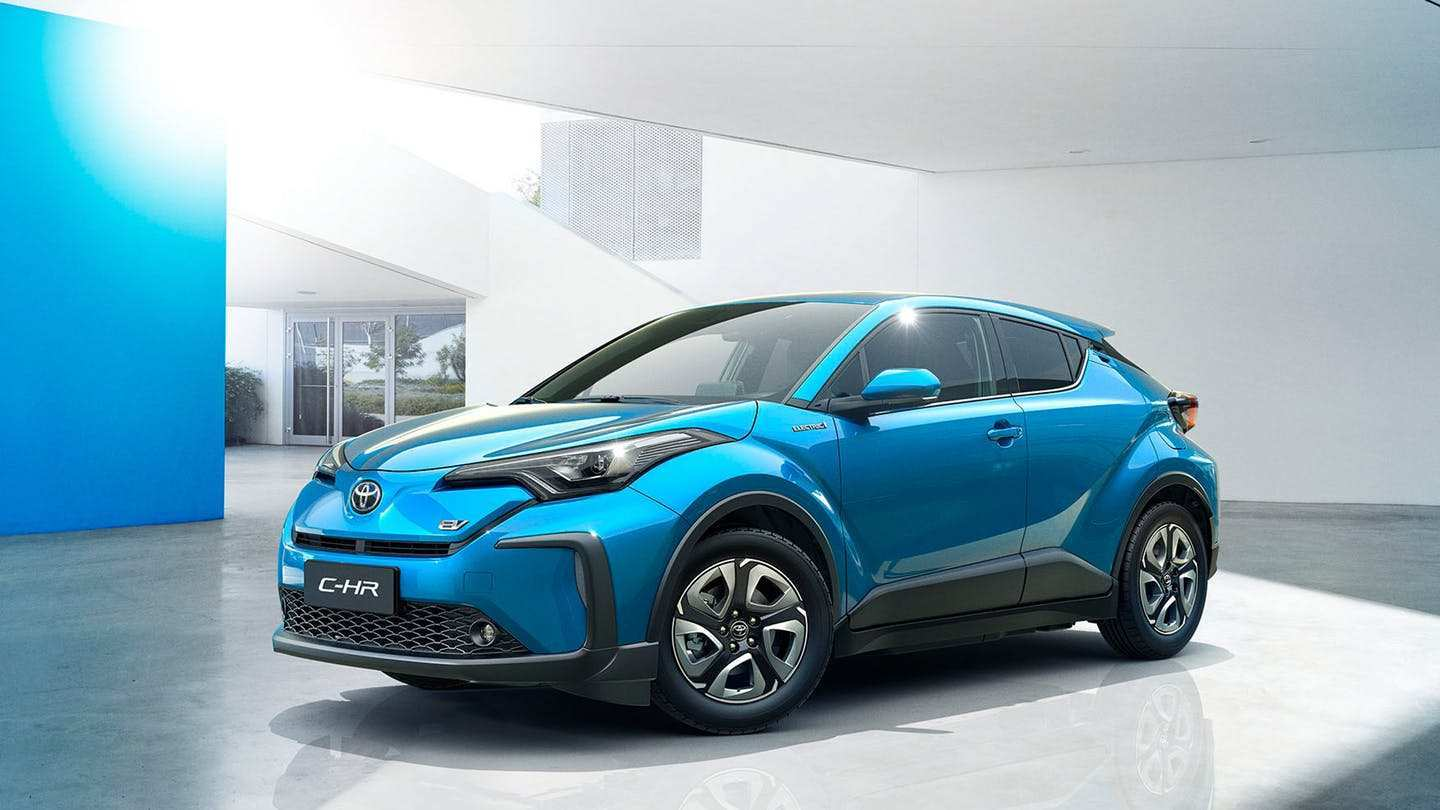 21 A 2020 Toyota Electric Car Concept