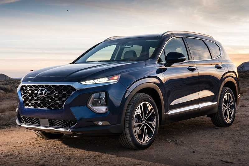 21 All New 2019 Hyundai Santa Fe Launch Wallpaper