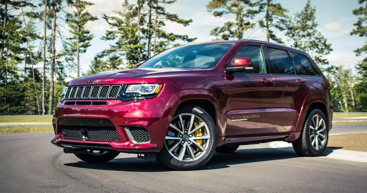 21 New 2020 Jeep Trackhawk Spy Shoot
