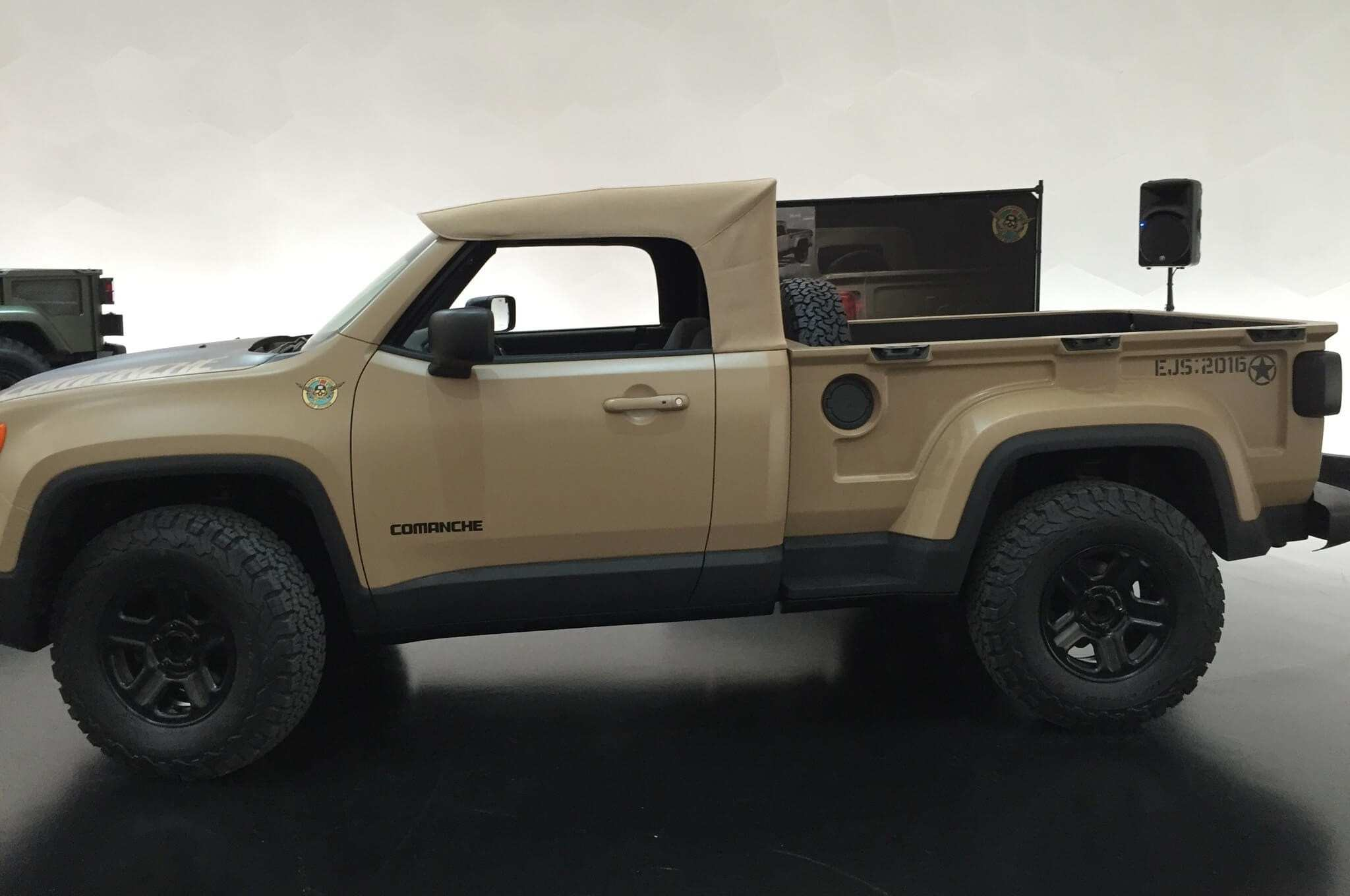 21 The 2019 Jeep Comanche Release Date And Concept