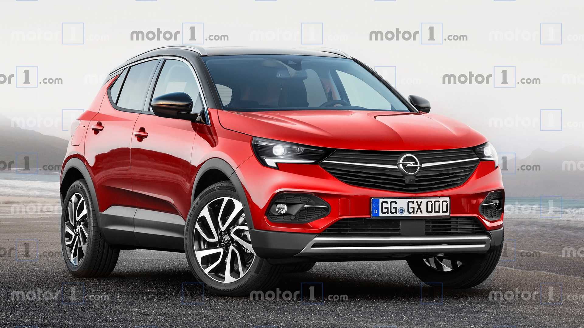 21 The Opel Mokka 2020 Spy Shoot