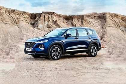 22 Best 2019 Hyundai Santa Fe Launch Images