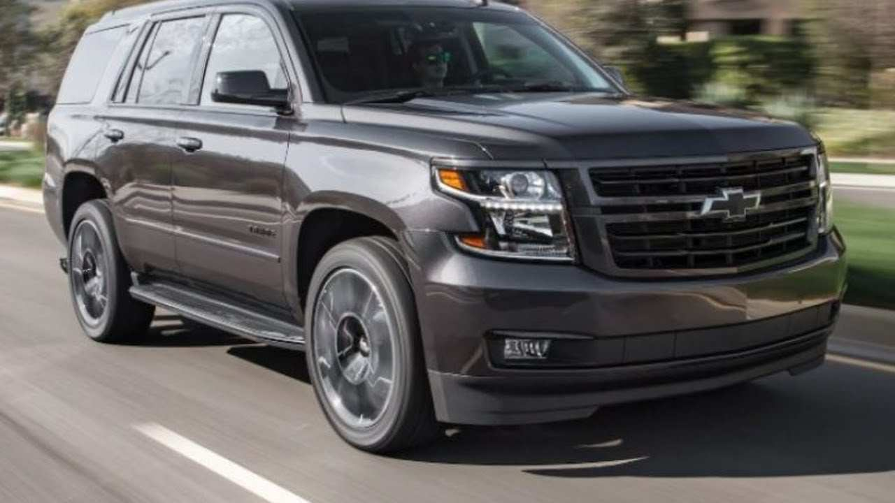 22 The When Will The 2020 Chevrolet Tahoe Be Released Redesign