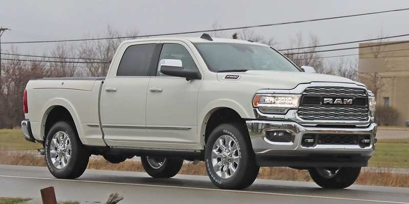 23 All New 2020 Dodge Ram Limited Spy Shoot