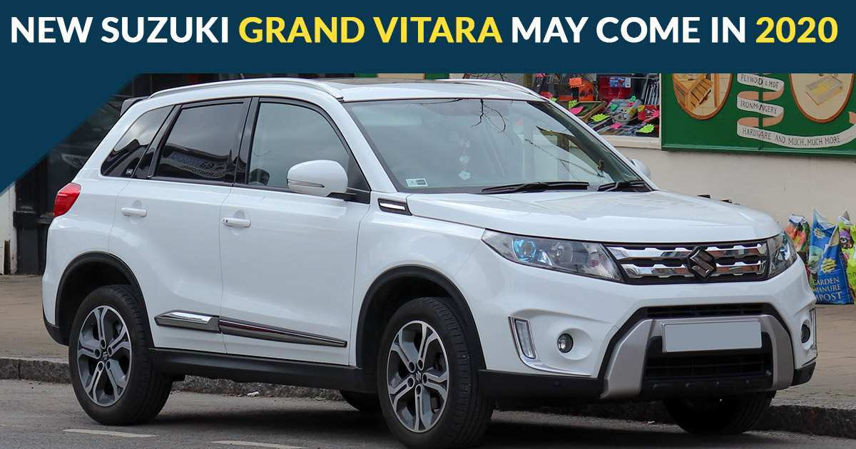 23 The Best 2020 Suzuki Grand Vitara Preview Model