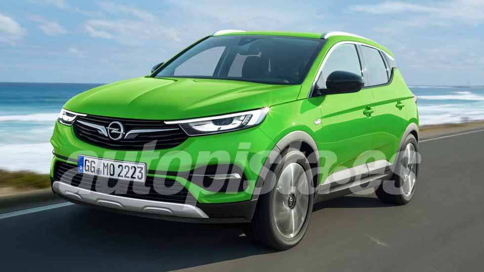 24 All New Opel Mokka 2020 Images