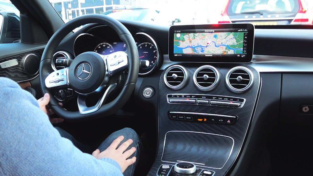 24 New Mercedes C 2019 Interior Wallpaper