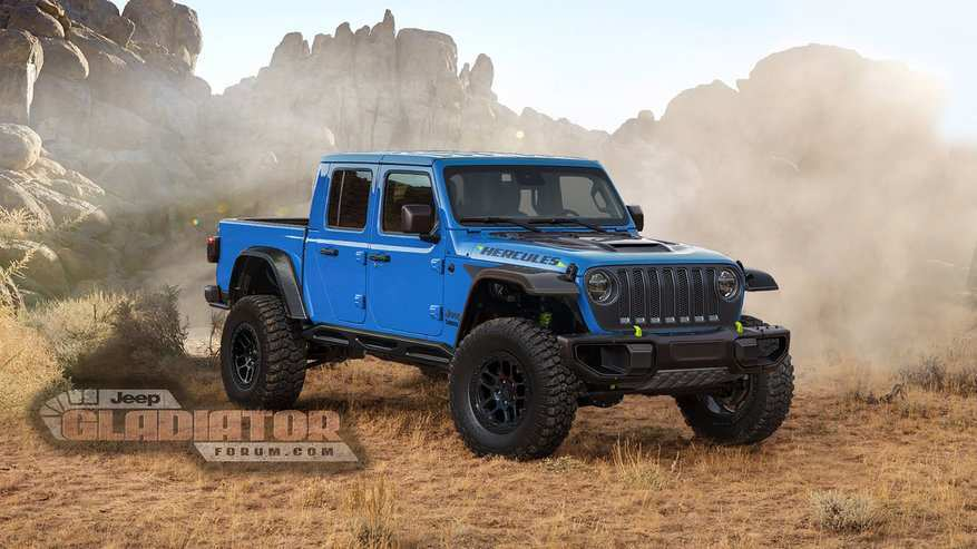 25 The 2020 Jeep Gladiator Lifted Redesign And Concept