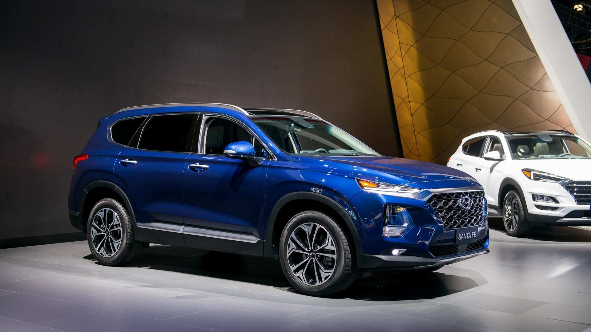 26 All New 2019 Hyundai Santa Fe Launch New Concept