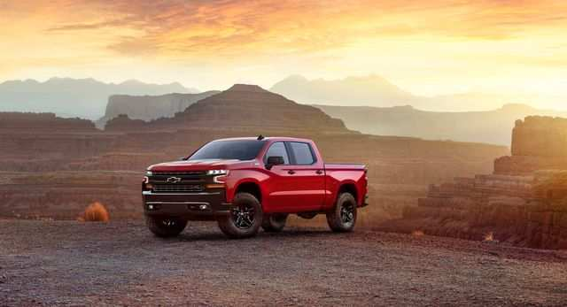 27 A 2019 Silverado Unveil Speed Test